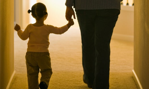Child with carer