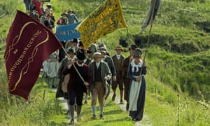 'Harrowing': a scene from Mike Leigh's Peterloo.