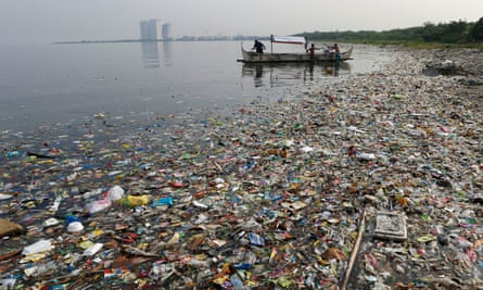 Manila Bay in the Philippines