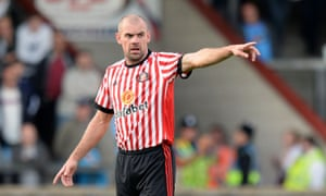 Sunderland suspended Darron Gibson following the drink-driving charge.