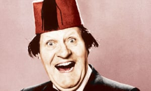 Tommy Cooper in his trademark red fez