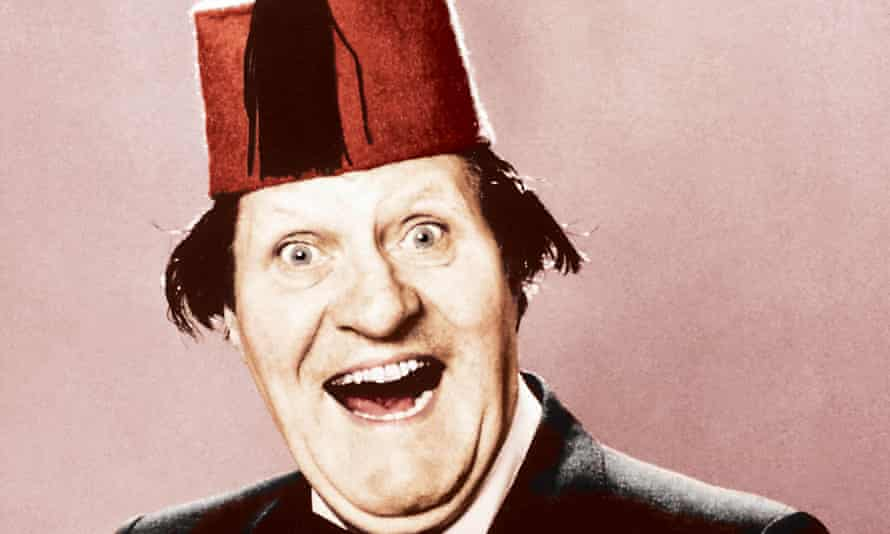 Tommy Cooper in a FEZ