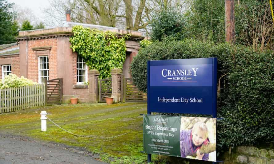 Cransley school in Northwich, Cheshire