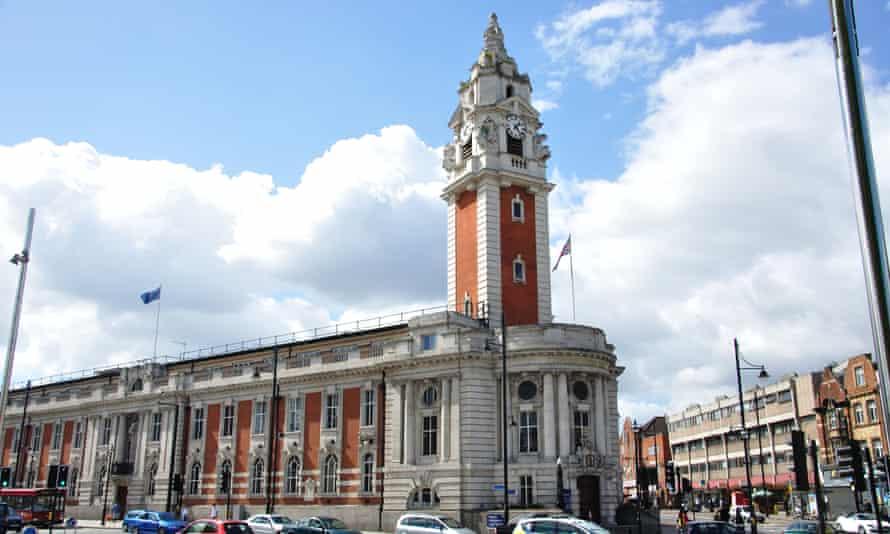 Lambeth town hall.