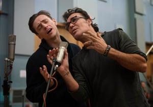 Polunin and LaChapelle on the mic