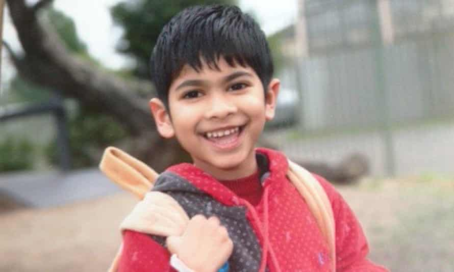 Adyan, the son of Dr Mahedi Hasan Bhuiyan and Rebaka Sultana. Adyan, 5, is facing deportation to Bangladesh.