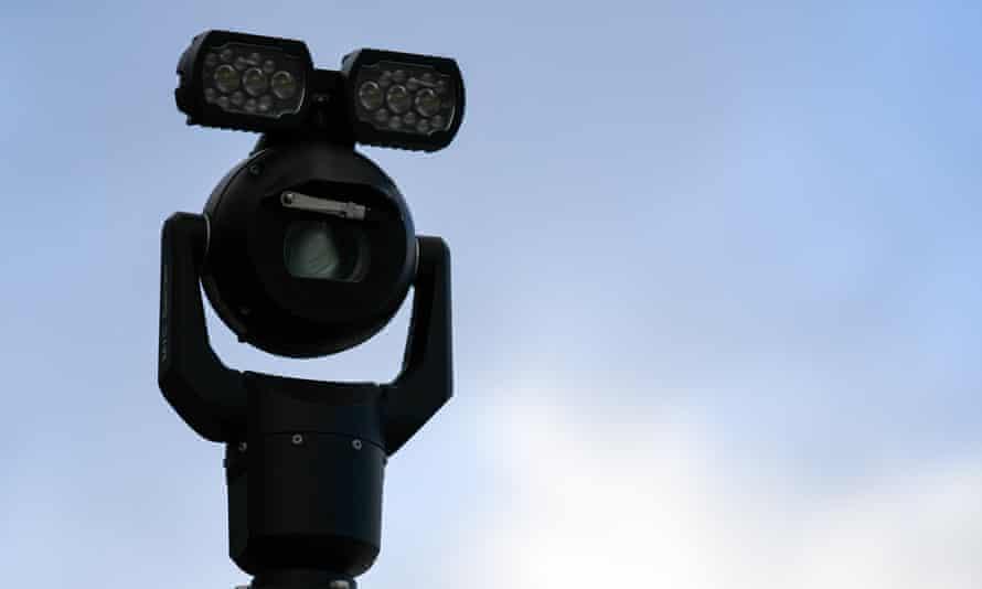 Facial recognition camera