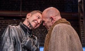 Hicks as Richard III and Peter Guinness as Buckingham.