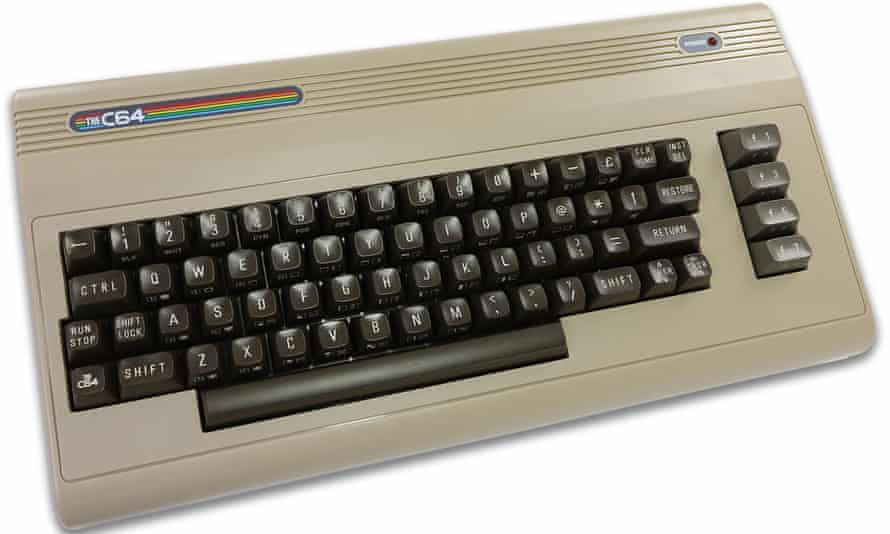 A powerful hit of nostalgia … the C64, a full-size replica preloaded with 64 games.