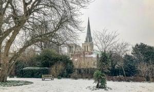 Kathedraal van Chichester.