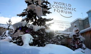 World Economic Forum 2017 in Davos: Britain's politicians got a chilly reception.