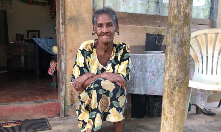 Laurenza Piron was permanently separated from her family when she was sent to the Seychelles 50 years ago.