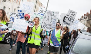 Protesters in Bristol march against female genital mutilation