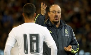 Benítez has managed Liverpool and Real Madrid, although his spell at the Bernabéu was not a happy one.