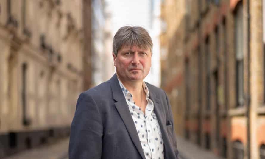 Poet Laureate Simon Armitage.