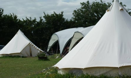 Nature England pitch perfect tents