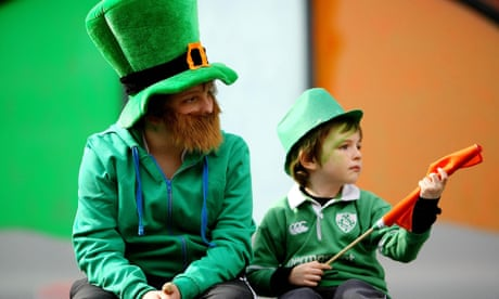 What will my dad's Ancestry profile reveal about my boy's Irish roots?