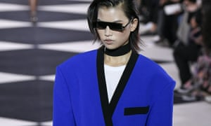 Classic blue, as seen in the Balmain SS20 show, is set to be big.