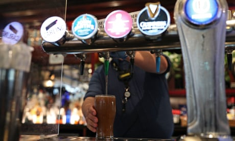 'A slap in the face': pub landlords livid at lack of support by Sunak