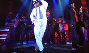 A scene from Thriller Live at the Lyric theatre, London.