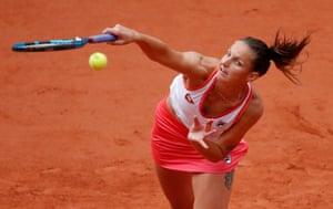 Pliskova beats Sherif 6-7(9) 6-2 6-4.