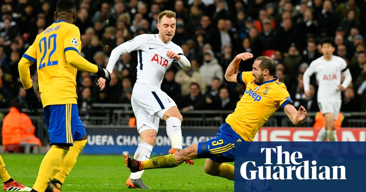 db897cdf713 Magic and workrate of Dybala and Chiellini edge Juve past Spurs ...
