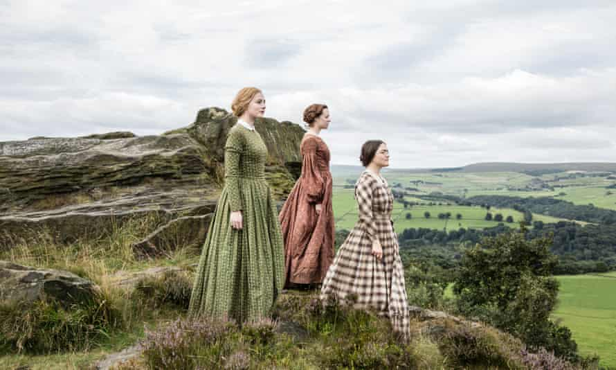 Charlie Murphy as Anne, Chloe Pirrie as Emily and Finn Atkins as Charlotte in Sally Wainwright's drama To Walk Invisible. Photograph: Gary Moyes/BBC