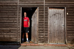 Keith Hill, pictured at Bolton's training ground, was planning signings before he got the job.