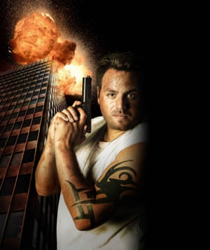 Adrian Lewis as John McClane