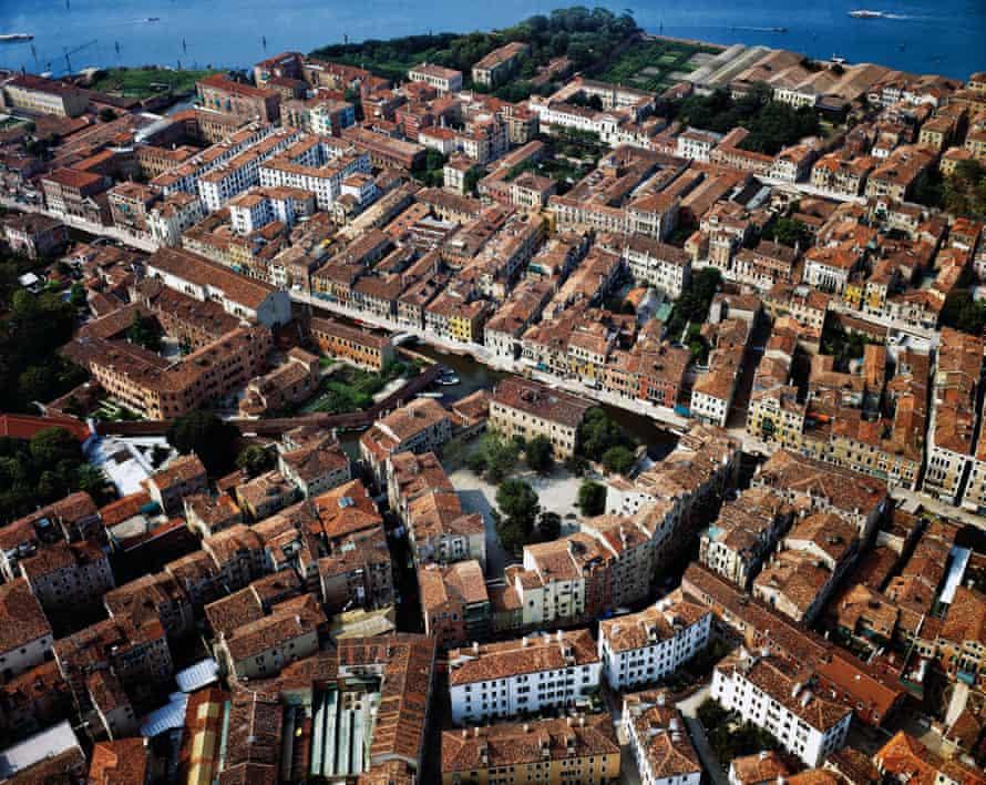 Campo Ghetto Nuovo from above.