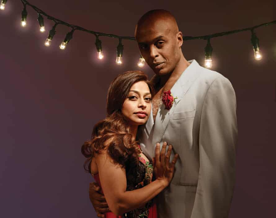Ayesha Dharker and Chu Omambala, who will play Titania and Oberon in the RSC's tour of <em>A Midsummer Night's Dream</em>.