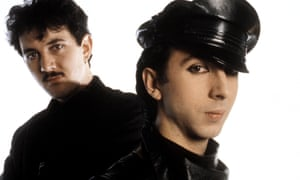 Say hello, wave goodbye ... Marc Almond and Dave Ball.