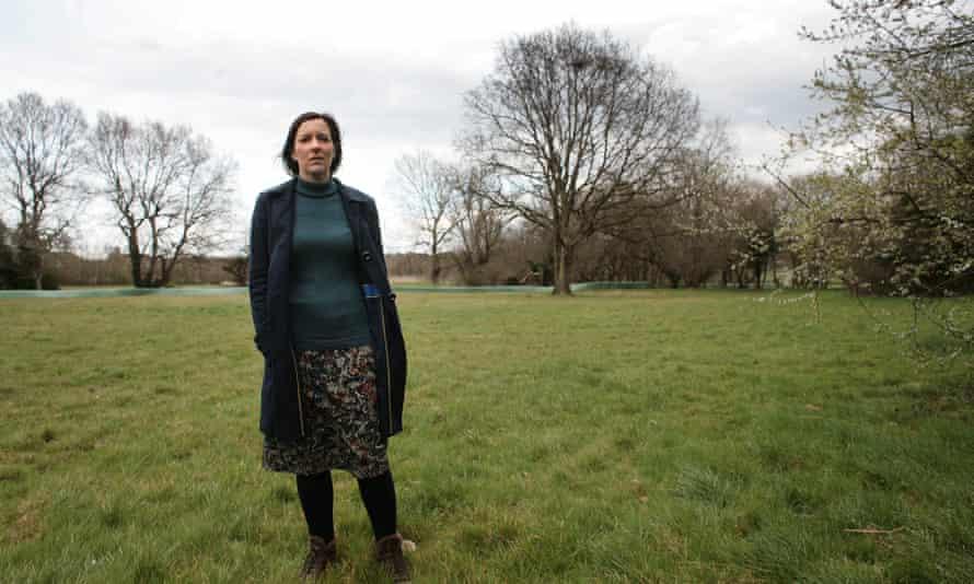 Joanne Bartley in field