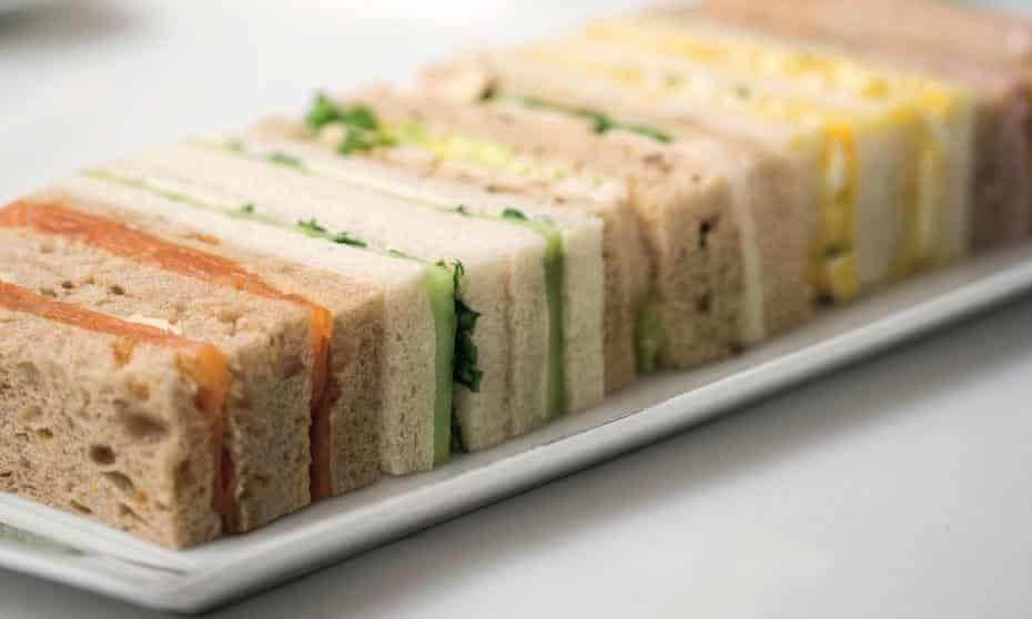 Claridge's tea sandwiches by Martyn Nail and Meredith Erickson.