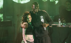 Kehlani and Stormzy in 2015.