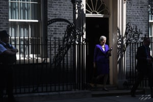 Theresa May leaves No 10