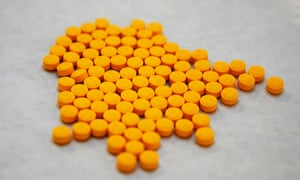Tablets believed to be laced with fentanyl.