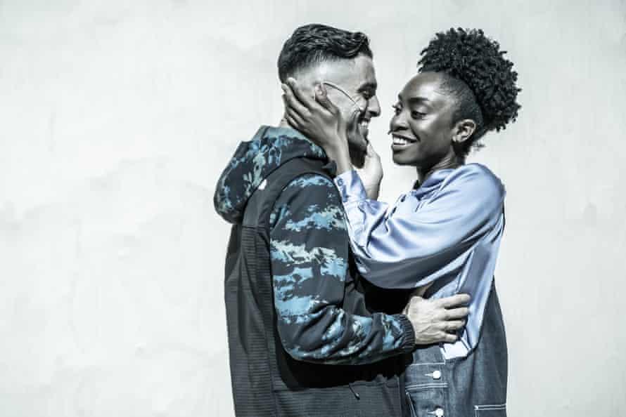 Honesty and feminist strength … Eben Figueiredo as Christian and Anita-Joy Uwajeh as Roxane.