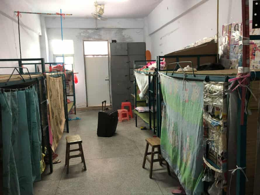 A dormitory for workers at Wah Tung Toys in Heyuan, Guangdong