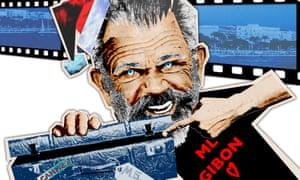 Mel Gibson illustration