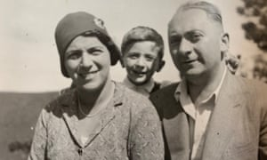 Erna, Robert and Leo Borger in Austria in the early 1930s.