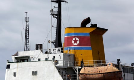 A North Korean container ship, the Chong Chon Gang, was seized in July