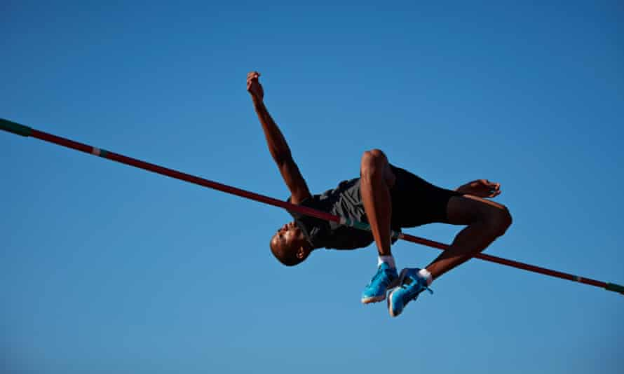 For the high jump ... firstborn children are more likely to take risks, according to one 2017 study.