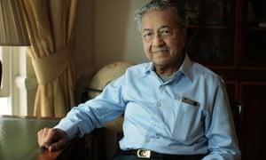 Mahathir Mohamad, the former prime minister