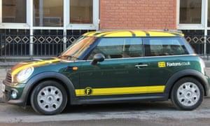 A Foxtons' car