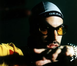 Sacha Baron Cohen as Ali G on The 11 O'Clock Show in 1999.