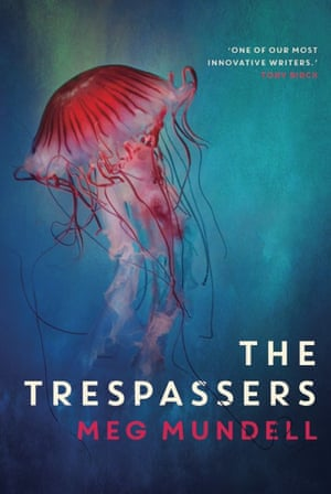 cover image for The Trespassers by Meg Mundell