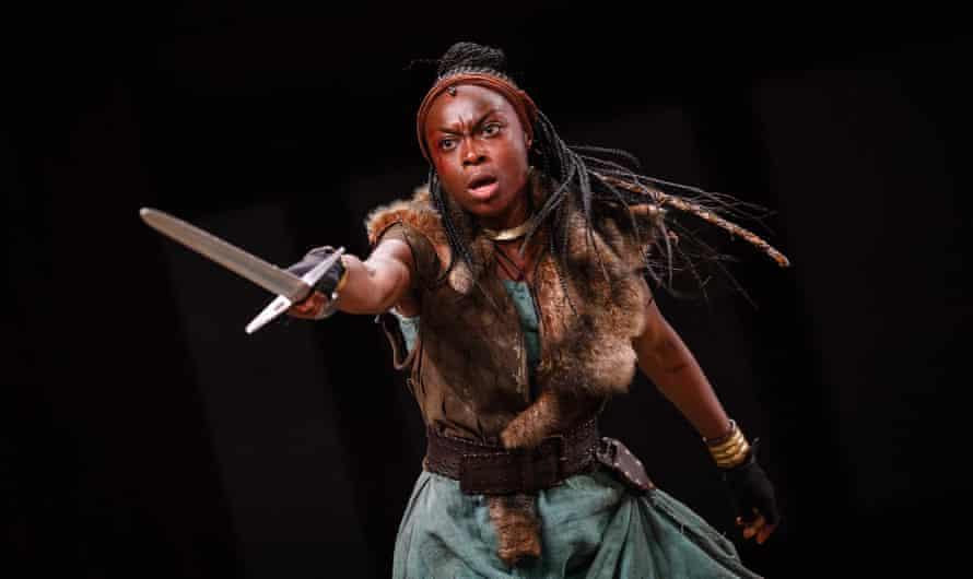 Arguing for peace … Joan Iyiola as Alonna.