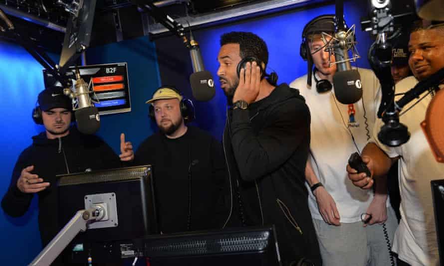 Takeover of Radio 1 Xtra with Craig David last year.