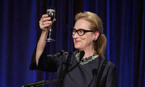 Actor Meryl Streep speaks during the Christopher & Dana Reeve Foundation 25th Anniversary gala in New York.